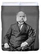 Ambrose Burnside And His Sideburns Duvet Cover by War Is Hell Store