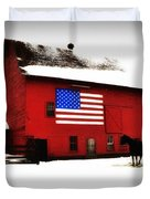 American Barn Duvet Cover by Bill Cannon