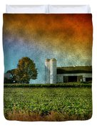Amish Country Farm Duvet Cover by Bill Cannon
