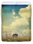 And The Livin's Easy Duvet Cover by Laurie Search
