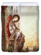 Angel Traveller Duvet Cover by Gustave Moreau