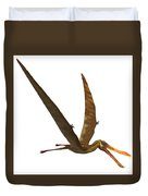 Anhanguera Pterosaur Duvet Cover by Corey Ford