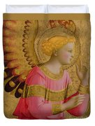 Annunciatory Angel Duvet Cover by Fra Angelico