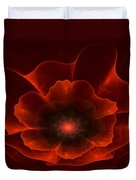 Apo Oriental Poppy Duvet Cover by Peggi Wolfe