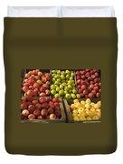 Apple Harvest Duvet Cover by Garry Gay