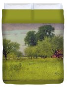 Apple Orchard Duvet Cover by George Snr Inness