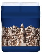 Architecture At The Lensic Theater In Santa Fe Duvet Cover by Susanne Van Hulst
