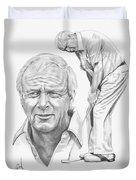 Arnold Palmer Duvet Cover by Murphy Elliott