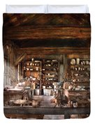 Artist - Potter - The Potters Shop  Duvet Cover by Mike Savad