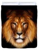 Artistic Lion Duvet Cover by Aimelle