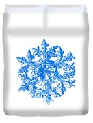 Snowflake Vector - Gardener's Dream White Version Duvet Cover by Alexey Kljatov