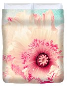 Pastell Poppy Duvet Cover by Angela Doelling AD DESIGN Photo and PhotoArt