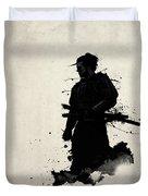 Samurai Duvet Cover by Nicklas Gustafsson