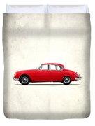 Jaguar Mark 2 1959 Duvet Cover by Mark Rogan