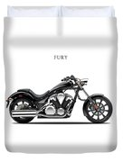 Honda Fury Duvet Cover by Mark Rogan