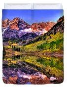 Aspen Wonder Duvet Cover by Scott Mahon