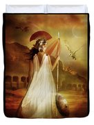 Athena Duvet Cover by Mary Hood