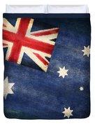 Australia  Flag Duvet Cover by Setsiri Silapasuwanchai