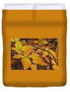 Autumn Beech  Duvet Cover by Michael Peychich