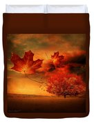 Autumn Blaze Duvet Cover by Lourry Legarde