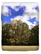Autumn Skies Duvet Cover by Bill Cannon