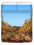 Autumn Vines Duvet Cover by K McCoy