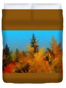Autumnal Forest Duvet Cover by David Lane