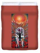 Awakening Duvet Cover by Wojtek Kowalski