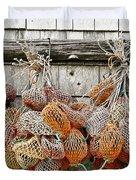 Bait Bags Duvet Cover by John Greim