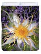 Bali Dream Flower Duvet Cover by Christopher Beikmann