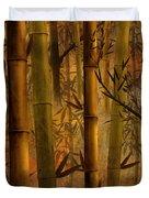 Bamboo Heaven Duvet Cover by Bedros Awak