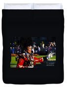 Band Leader Duvet Cover by David Lee Thompson