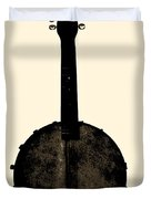 Banjo Mandolin Duvet Cover by Bill Cannon