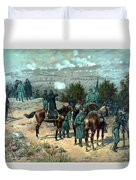 Battle Of Chattanooga Duvet Cover by War Is Hell Store