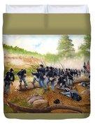 Battle Of Utoy Creek Duvet Cover by Marc Stewart