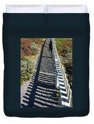 Beach Path Duvet Cover by Carol Groenen
