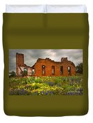 Beauty And Ashes Duvet Cover by Jon Holiday