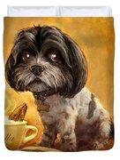 Bella's Biscotti Duvet Cover by Sean ODaniels