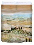 Belvedere - Tuscany Duvet Cover by Trevor Neal