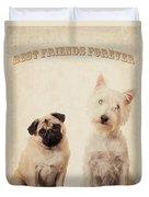 Best Friends Forever Duvet Cover by Edward Fielding