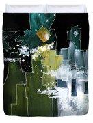 Beyond Horizons Duvet Cover by Anil Nene