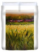 Beyond The Valley Duvet Cover by Shannon Grissom