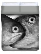 Big Fish Eat Small Fish Duvet Cover by Michal Boubin