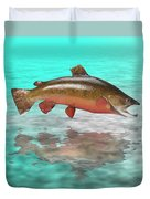 Big Fish Duvet Cover by Jerry McElroy