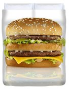 Big Mac Duvet Cover by Geoff George