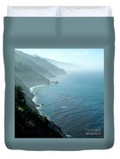 Big Sur Majesty Duvet Cover by Charlene Mitchell