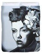Billie Holiday Duvet Cover by Kaaria Mucherera
