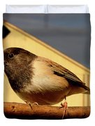Bird House . 40D11078 Duvet Cover by Wingsdomain Art and Photography