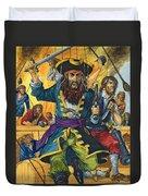 Blackbeard Duvet Cover by Richard Hook