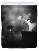Blowin' In The Wind Duvet Cover by Erik Brede